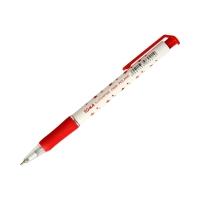 Długopis w gwiazdki automatyczny czerwony S-Fine Toma TO-06923