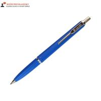 Długopis 0.5-0.7mm niebieski nikiel Zenith 7/10
