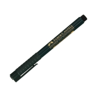 Cienkopis 0.4mm czarny FinePen FaberCastell