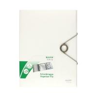 Teczka gumka A4 biała organizer Bebop
