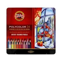 Kredki ołówkowe 24kol Polycolor KIN 3824