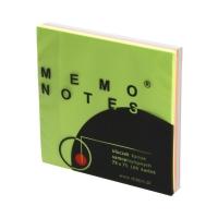 Karteczki samoprzylepne 75x75/100 kol tecza Dalpo