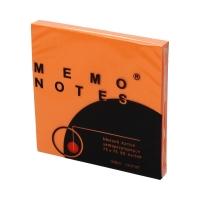 Karteczki samoprzylepne 75x75/80 fluo/pomarańcz Dalpo