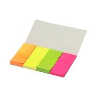Zakładki indeksujące 20x50/40 4kol neon