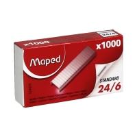 Zszywki 24/6 (1000) Maped