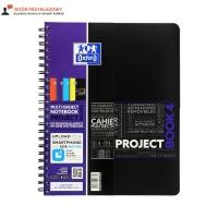 Kołonotatnik A4+/80 kratka PP Oxford ActiveBook 400019520