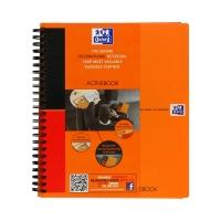 Kołonotatnik A5+/80 linia PP Oxford ActiveBook