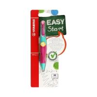 Ołówek automatyczny 1.4mm/HB dla leworęcznych turkus/róż EasyErgo Stabilo