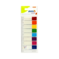 Zakładki indeksujące 12x45/15 8kol neon StickN 21467
