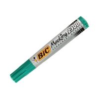 Marker permanentny 3.7-5.5mm zielony ścięty Bic