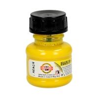 Tusz kreślarski żółty 20g KIN