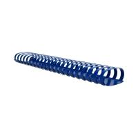 Grzbiet plastikowy 51mm niebieski 500k Argo