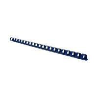 Grzbiet plastikowy 10mm niebieski 65k Argo