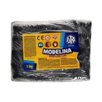 Modelina 1kg czarna Astra