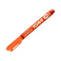 Marker olejowy 1.5mm pomarańczowy okrągły Toma TO441