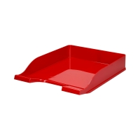 Półka dokumenty A4 czerwona Colors Bantex