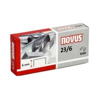 Zszywki 23/6 cynkowe (1000) HD Novus