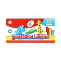 Plastelina 12kol AS 303219003