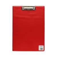 Deska klip A4 czerwona Biurfol