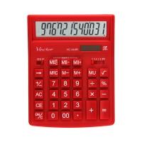 Kalkulator 12pozycyjny czerwony VC444R Vector