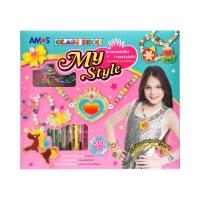 Farby witrażowe bransoletki i naszyjniki MyStyle Amos