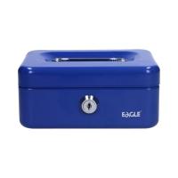 Kasetka metalowa niebieska XS 70x153x120 Eagle