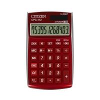 Kalkulator 12pozycyjny CPC112RDWB burgund Citizen