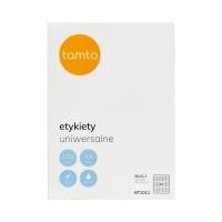 Etykiety uniwersalne 38x21.2/65 białe Tamto (100)