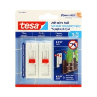 Gwóźdź samoprzylepny do płytek regulowany do 3kg Tesa - 2szt.