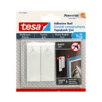 Gwóźdź samoprzylepny na tapety biały do 1kg Tesa - 2szt.