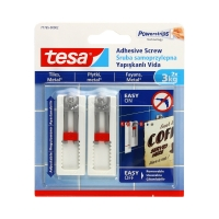 Śruba samoprzylepna do płytek regulowana do 3kg Tesa - 2szt.