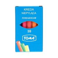 Kreda kolorowa niepyląca Toma 10 szt. w opak.