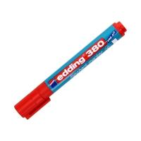 Marker flipchart 1.5-3.0mm czerwony okrągły Edding 380