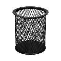 Kubek okrągły siatka duży czarny B802A Net