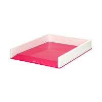 Półka dokumenty A4 biało/różowa Wow Leitz