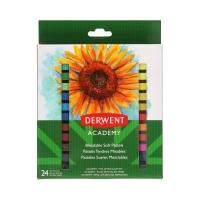 Pastele suche miękkie 24kol Derwent Academy 98216