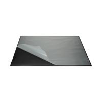 Mata na biurko 65x50 czarna z nakładką Durable 7293