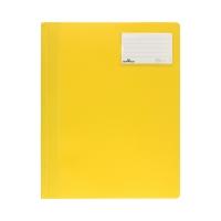Skoroszyt A4 żółty nieprzezroczysty Durable