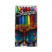Markery permanentne 21kol Sharpie Fine + Ultra Fine