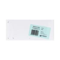 Przekładki kartonowe 1/3 A4 białe Wektor (100)