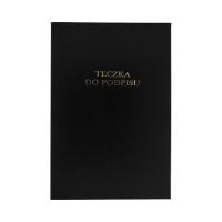 Książka podpis 10k czarna harmonijkowa Barbara 1822209