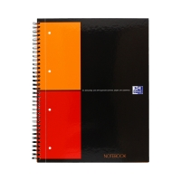 Kołobrulion A4+/80 kratka Oxford Notebook