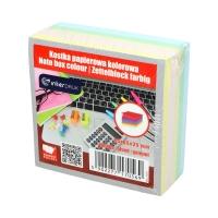 Karteczki 85x85x350 kolor klejone Interdruk