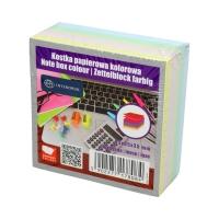 Karteczki 85x85x350 kolor nieklejone Interdruk
