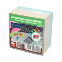 Karteczki 85x85x500 kolor nieklejone Interdruk