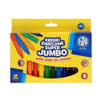 Kredki świecowe 12kol Jumbo Astra 316118003