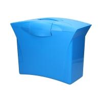 Walizeczka teczki zawieszane niebieska z wyposażeniem Europost Esselte Vivida