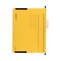 Teczka zawieszkowa A4/boczki żółta Alpha Leitz