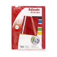 Skoroszyt wpinany czerwony (10) Esselte