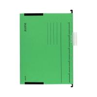 Teczka zawieszkowa A4/boczki zielona Alpha Leitz